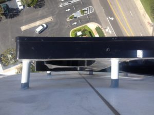 A view from above during installation!