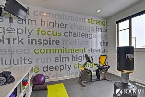 Figure 4: Fitness Center Wall Graphics