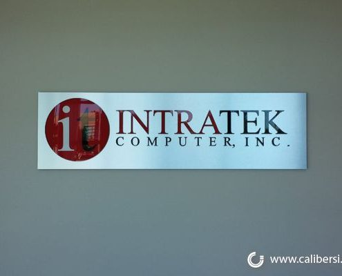 Caliber Signs Irvine Office Signs