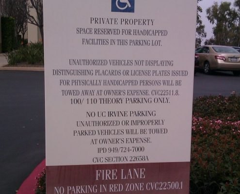 Caliber Signs Irvine Site Signs