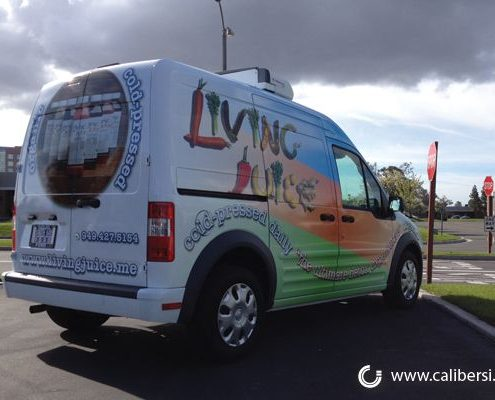 Caliber Signs Irvine Vehicle Wraps