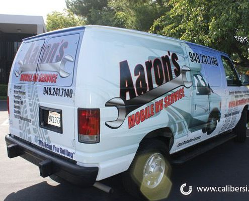 Caliber Signs Irvine Vehicle Wraps