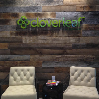 Cloverleaf Dimensional Acrylic lettering Orange County - Caliber Signs & Imaging in Irvine Call: 949-748-1070