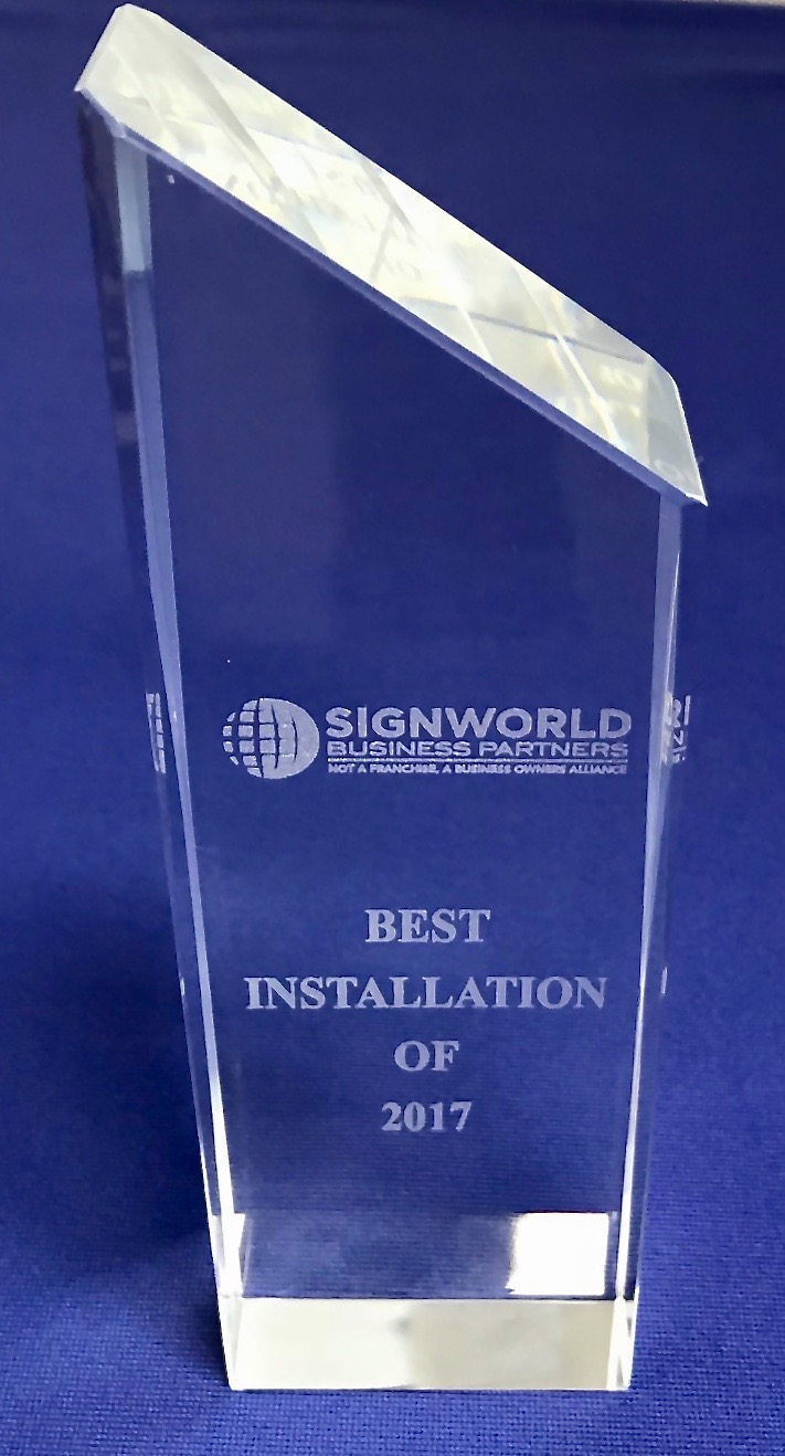 Caliber Best Installation Award