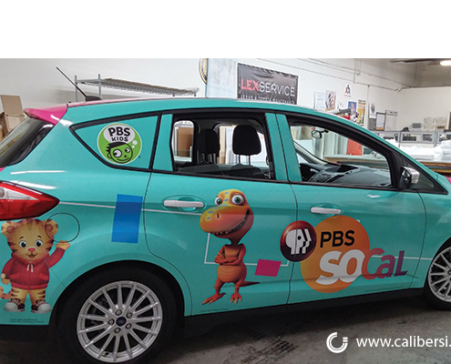 PBS Vehicle Wrap Graphics - Orange County by Caliber Signs & Imaging in Irvine - Call 949-748-1070