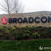 Broadcom Monument Sign