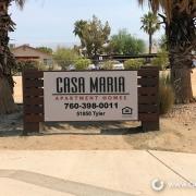 Casa Maria Monument Sign