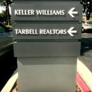 Directional Pillar Sign