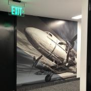 Corporate branding with wall murals in Orange County CA