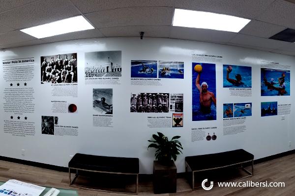 Corporate Heritage Walls in Irvine CA
