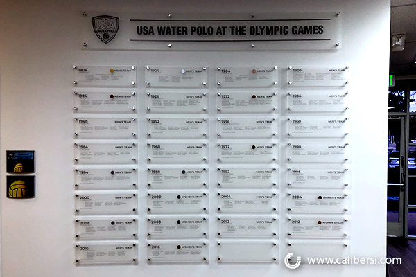Sports Recognition Walls in Irvine CA