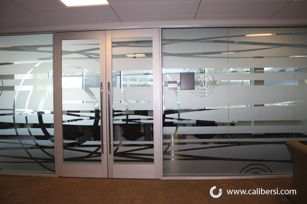 Frosted Window Graphics in Orange County CA
