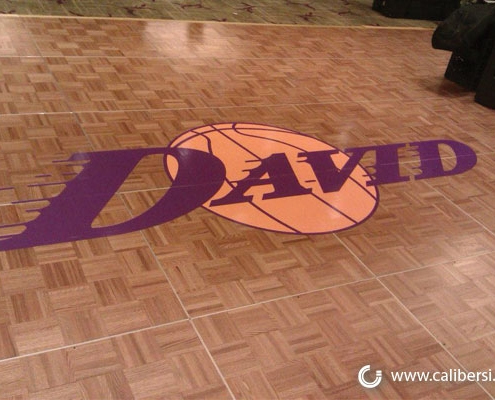 Vinyl floor graphics in Orange County CA