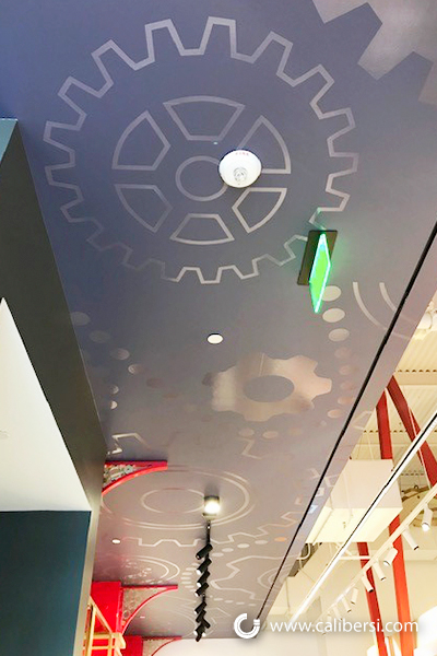 Vinyl Graphics for Ceilings in Orange County CA