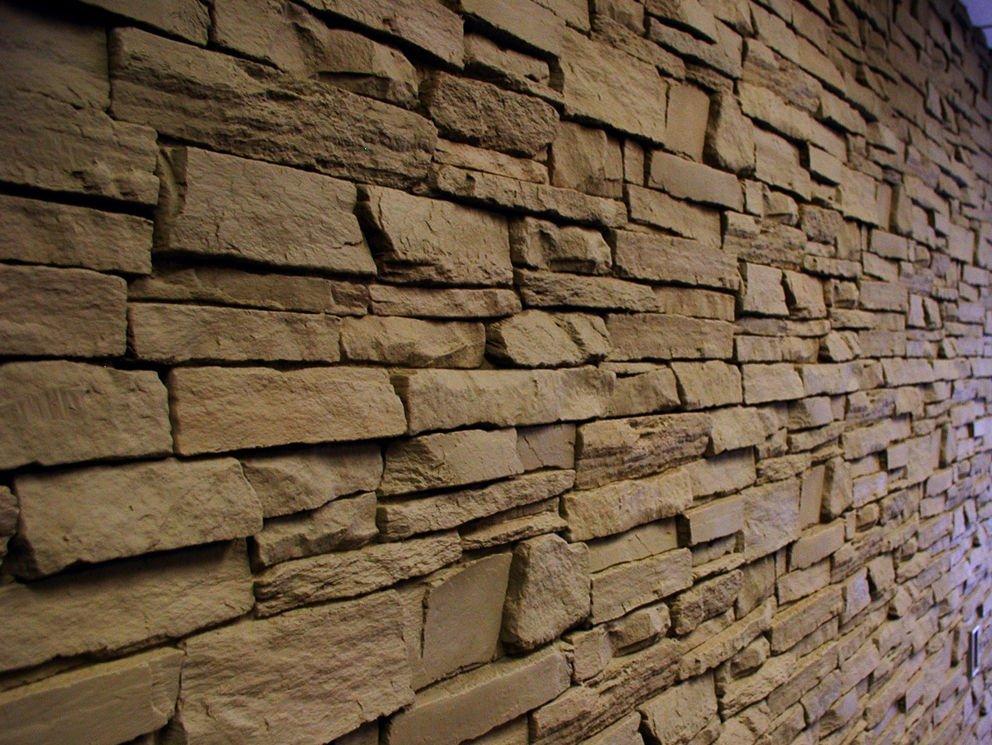 Faux Brick Lobby Walls Orange County CA