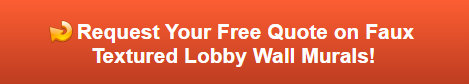 Free quote on lobby wall murals