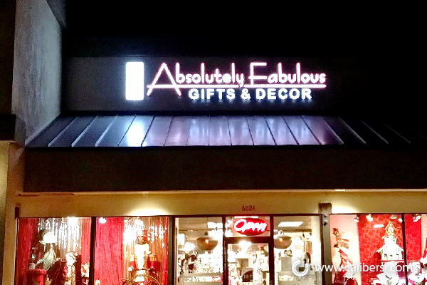 Illuminated Retail Store Signs in Orange County CA