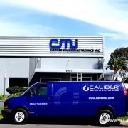 CMI building sign Irvine, CA