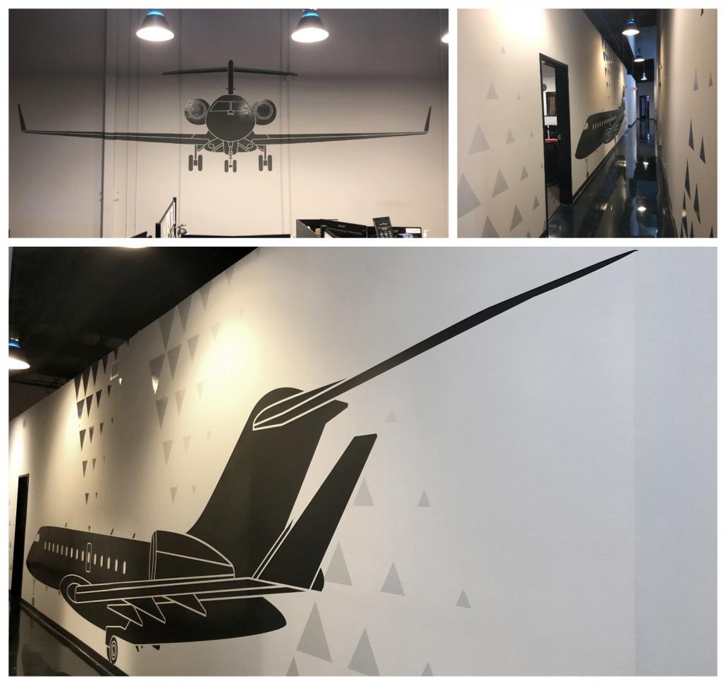 Die Cut Vinyl Wall Graphics in Irvine CA