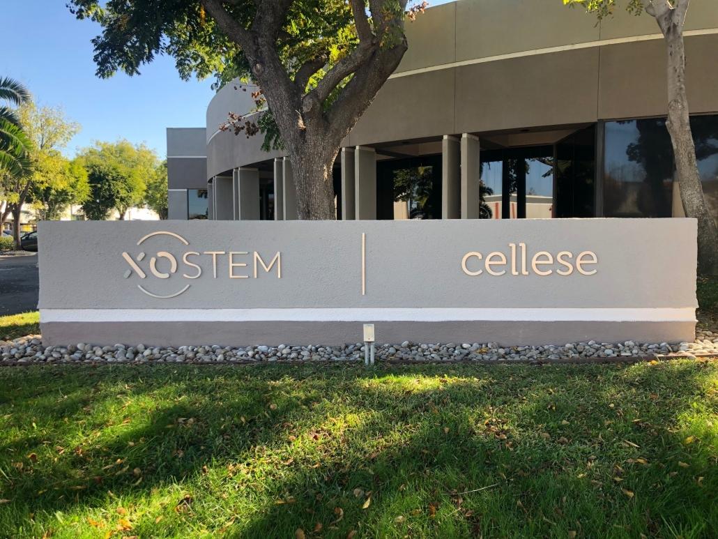 Monument Sign Refurbish in Irvine CA