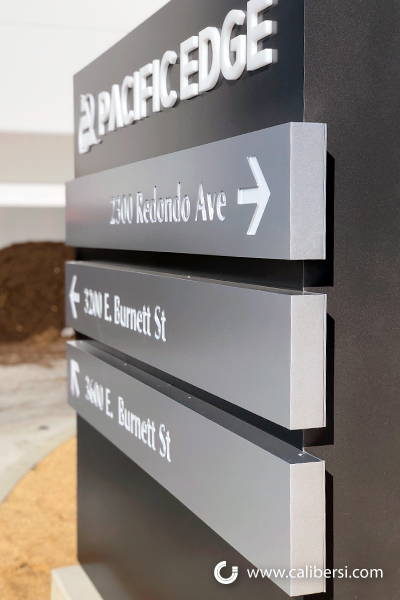 Exterior Directory Signs with Tenant Panels