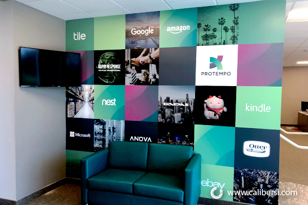 Wall Murals for Offices in Irvine CA