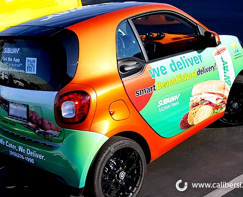 7 Reasons to Use Vehicle Wraps