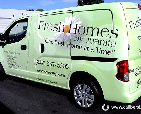 Vehicle Wraps and Graphics in Orange County CA