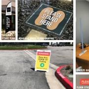 COVID 19 Signs in Orange County CA