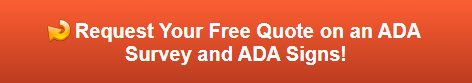 Free quote on ADA Signs