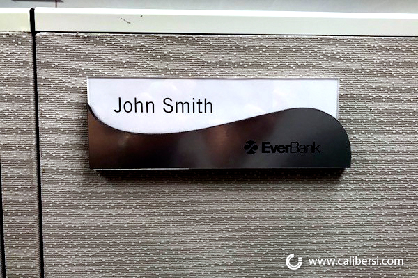 Name Plates for Cubicles in Irvine CA