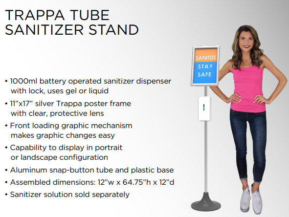Hand Sanitizer Stands in Orange County CA