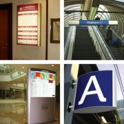 Caliber Signs Wayfinding Vista Light