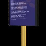 Caliber Signs Wayfinding Vista Light Post Panel 1