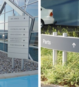 Caliber Signs Wayfinding Vista Post Signs