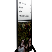Caliber Signs Wayfinding Vista Sharp Duble Sided Pylon 1