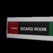 Caliber Signs Wayfinding Vista Slider Plastic Slider