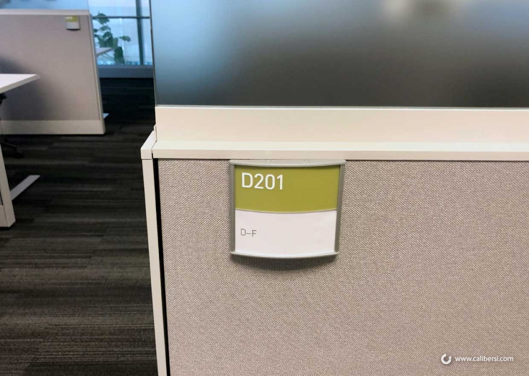 Vista Cubicle Signs in Orange County CA