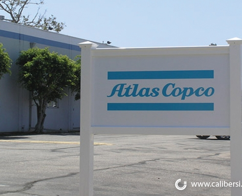 Atlas Copco Property Sign WEB