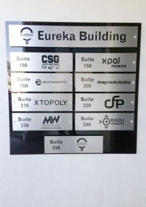 Building Directory Sign Irvine CA Caliber Signs and Imaging WEB