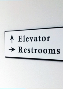 Directional Interior Sign Orange County CA Caliber Signs WEB2