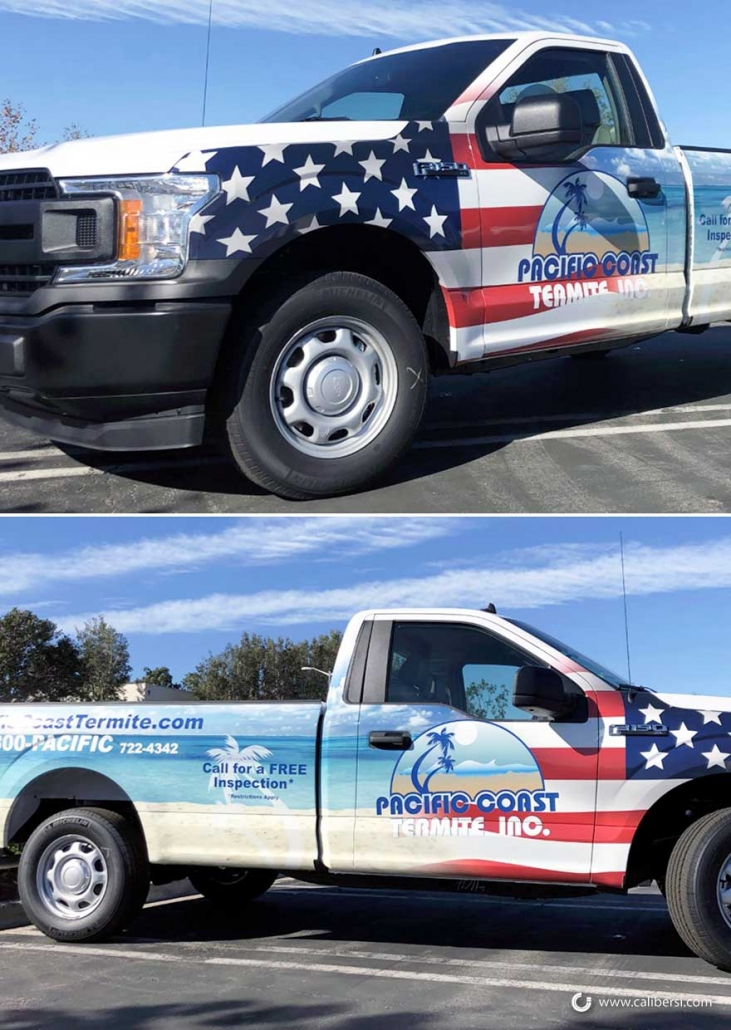 Fleet vehicle wraps and graphics in Orange County CA