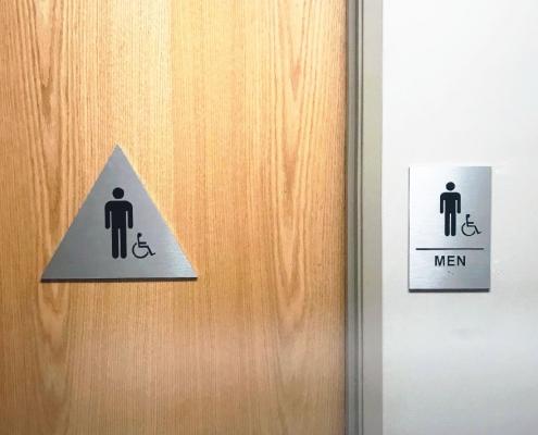 Mens Bathroom Signs ADA WEB