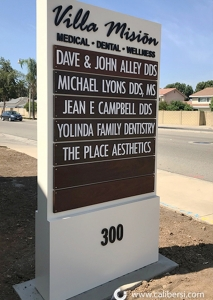 Monument Marquee Sign Irvine CA Caliber Signs and Imaging WEB2