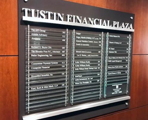 Tustin Directory Sign WEB