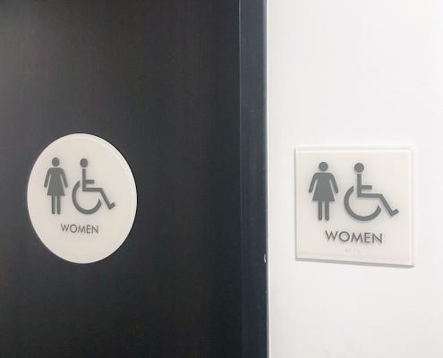Womens Bathroom Sign WEB