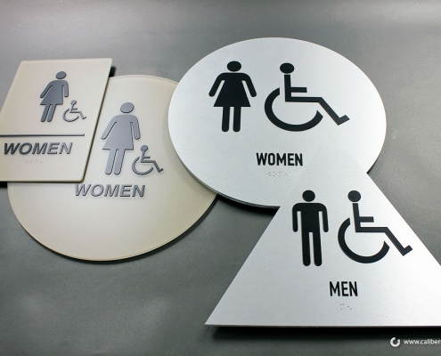 ADA Restroom Signs in Orange County CA 2