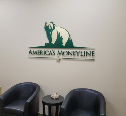 Lobby Signs for Mortgage Companies in Newport Beach CA