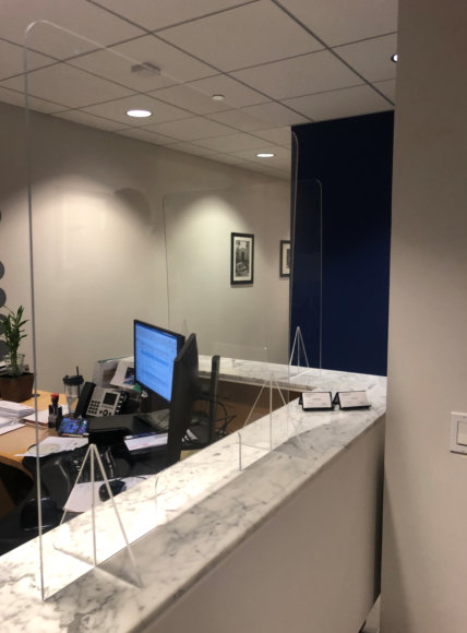 Sneeze Guards for offices reopening in Orange County CA