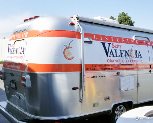 Airstream RV Wrap Trailer Wrap Betty Valencia Caliber Signs and Imaging